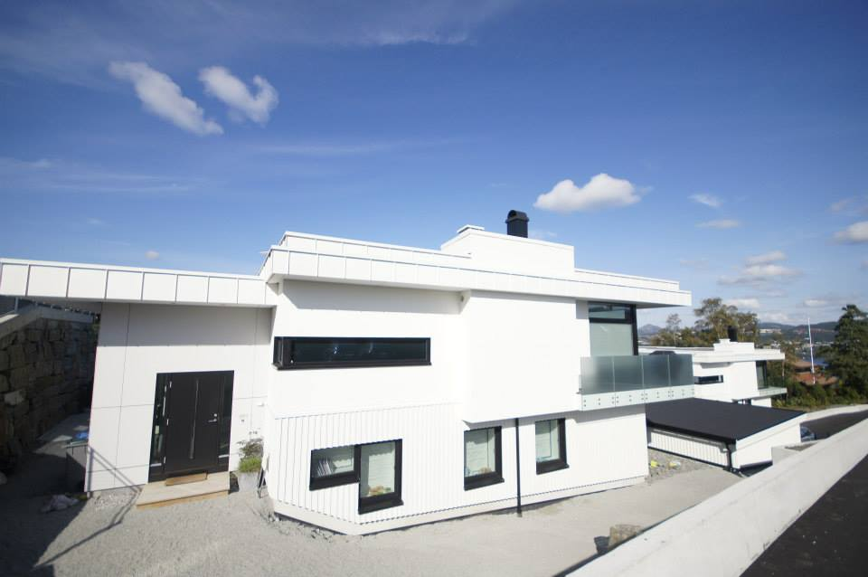 Fasader Bergen