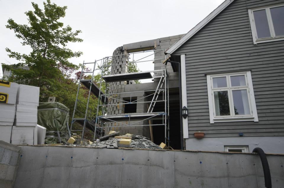 Murer garasje Bergen Murmestrene Knudsen og Olsen