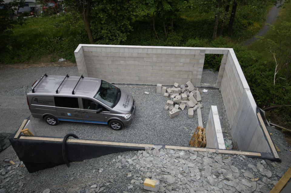 profesjonell murer garasje Murmestrene Knudsen og Olsen
